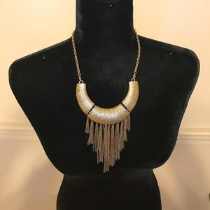 Gold Dangling necklace